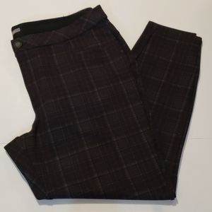 MAURICES Plaid Smart Skinny Dress Pants size 20W